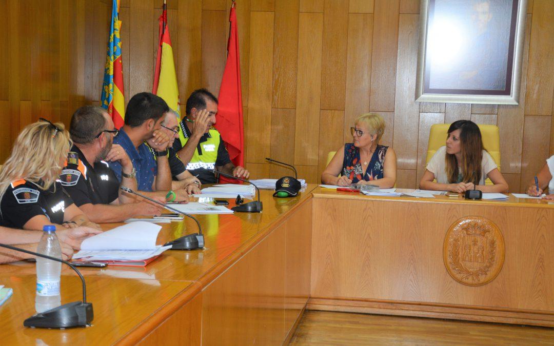 El Ayuntamiento ultima el dispositivo de seguridad especial para Fiestas Mayores y Fallas