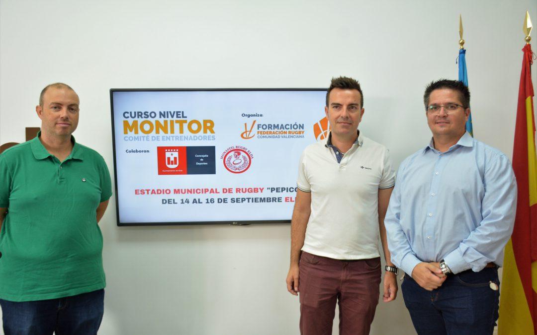 El Club Monastil Rugby organiza un curso de monitor con la colaboración del Ayuntamiento de Elda