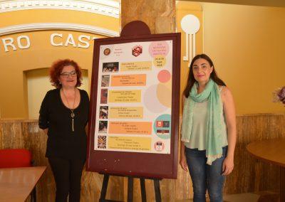 El grupo Carasses presenta la programación de la XIII Muestra de Teatro Amateur en el Teatro Castelar