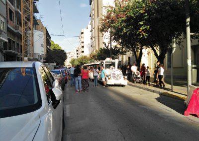 Éxito del Turistren de Elda con más de 2.500 pasajeros durante las Fallas