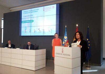 """El proyecto """"Andeando"""" de Elda conquista el primer premio de la Generalitat Valenciana sobre la Semana Europea de la Movilidad"""