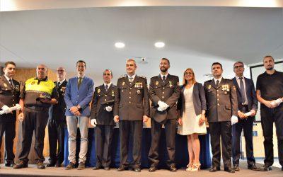 La Policía Nacional celebra el Día de los Santos Ángeles Custodios con la condecoración a varios agentes y colaboradores civiles
