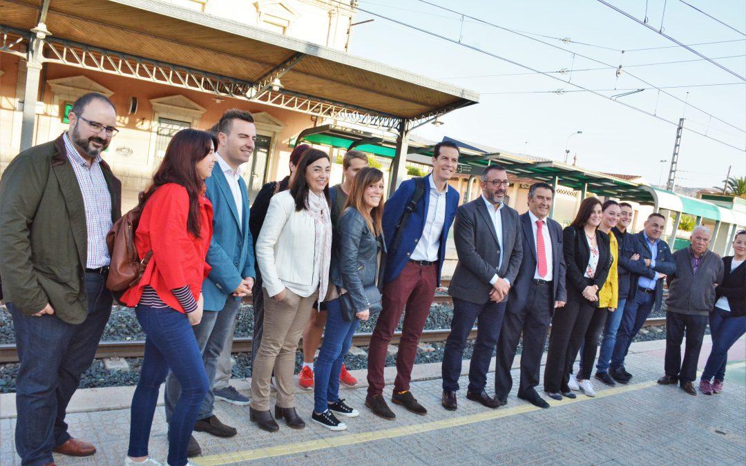 El nuevo servicio de Cercanías que conecta Elda con Alicante entra en funcionamiento