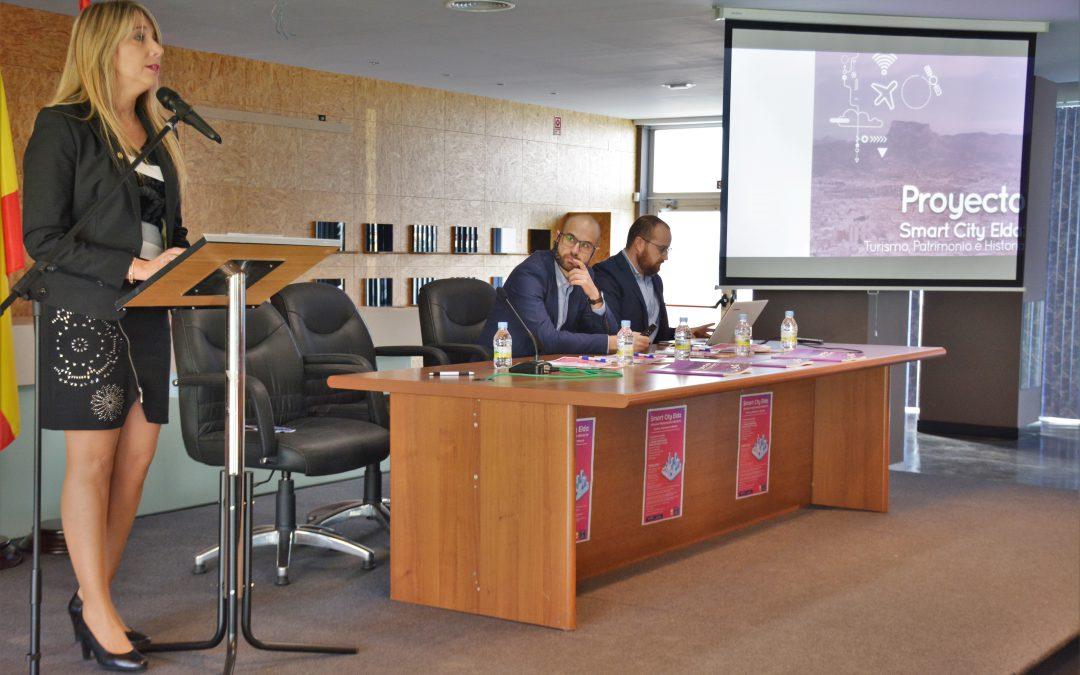 El turismo, la historia y el patrimonio de Elda se refuerzan con el proyecto Smart City