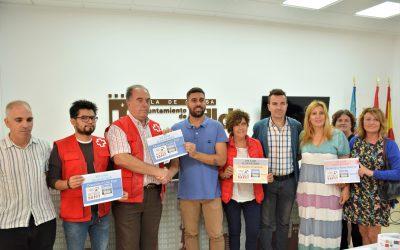 Funredis, Sense Barreres y Cruz Roja reciben el dinero recaudado en la carrera solidaria entre Elda y Petrer