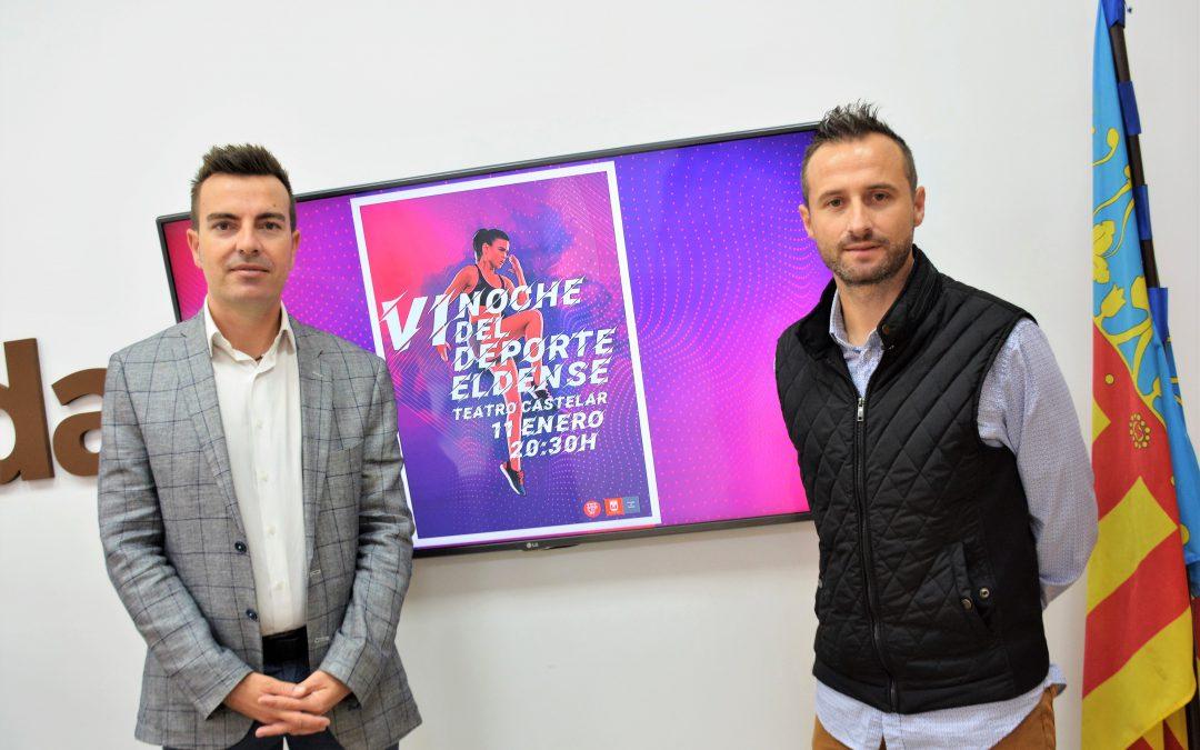 La Noche del Deporte Eldense se celebrará el 11 de enero de 2019 en el Teatro Castelar