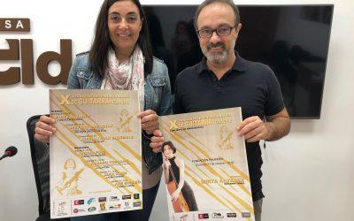 El Ayuntamiento presenta las X Jornadas Internacionales de Guitarra de Elda organizadas por PIMA
