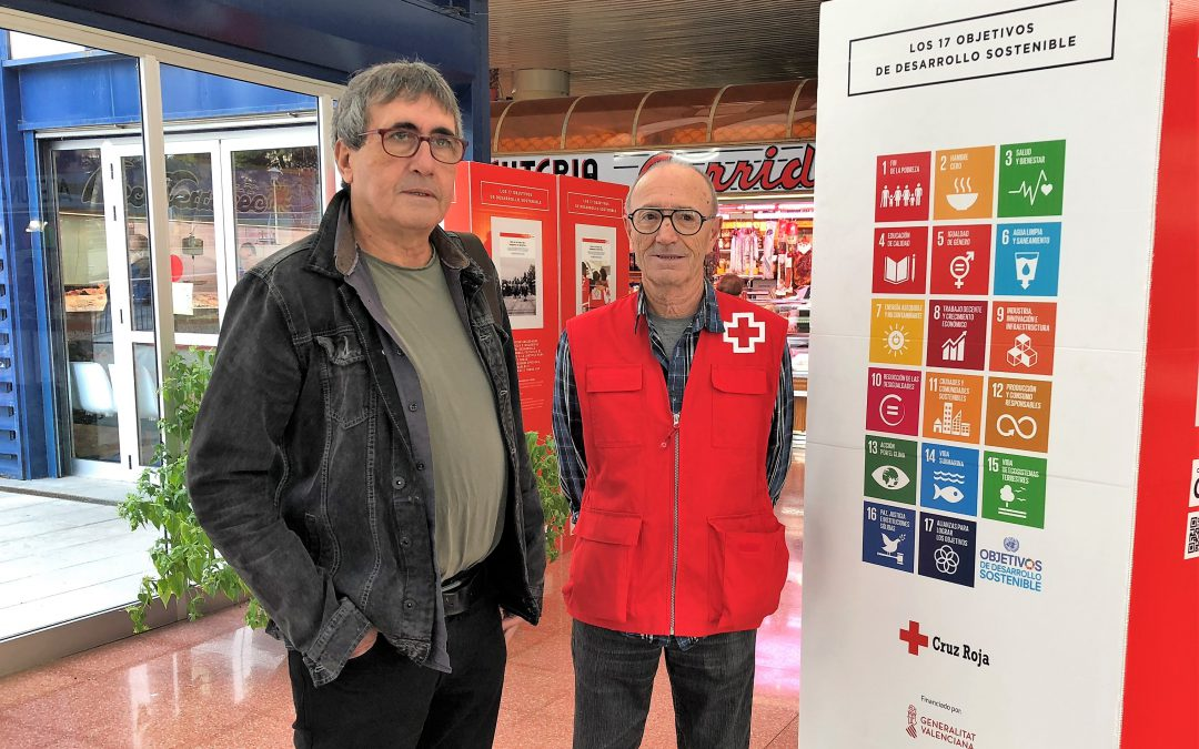 Cruz Roja presenta un exposición con 17 objetivos de desarrollo sostenible de cara al año 2030