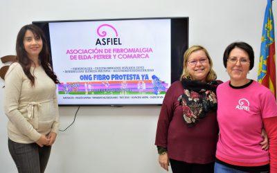 La asociación Asfiel de Elda pondrá una mesa informativa en el Centro de Especialidades de Padre Manjón para visibilizar la Fibromialgia