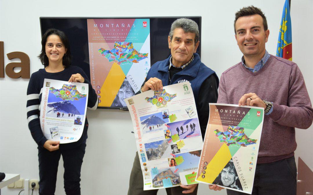 6efef7de1 Elda acoge dos conferencias sobre deporte adaptado con motivo de las II  Jornadas de Montañismo Inclusivo
