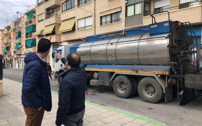 El Ayuntamiento de Elda renueva el asfaltado de la zona de las 300 y calles adyacentes