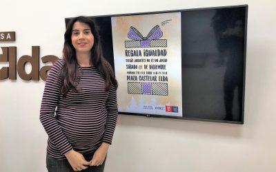 El Ayuntamiento de Elda organiza el próximo 1 de diciembre los talleres 'Regala Igualdad' en la Plaza Castelar