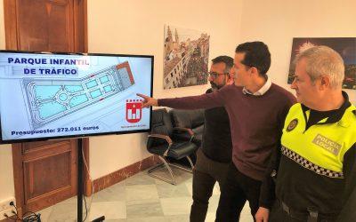 El Ayuntamiento de Elda construirá el nuevo parque infantil de tráfico junto al Nuevo Pepico Amat