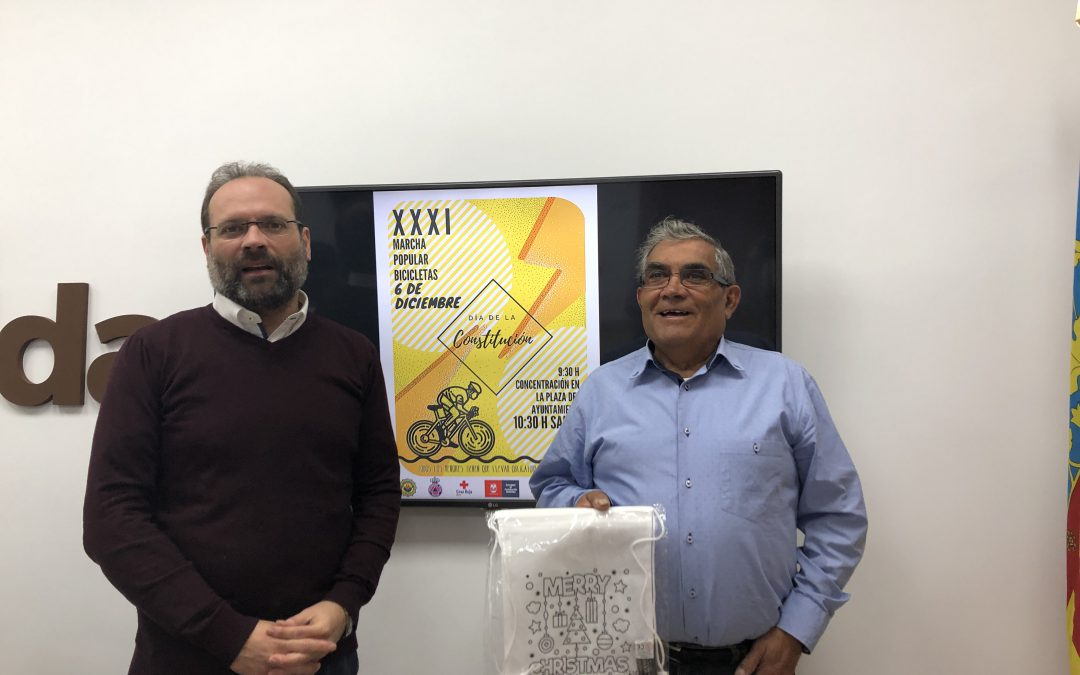 La FAVE celebra la XXXI Marcha Popular de Bicicletas para el Día de la Constitución