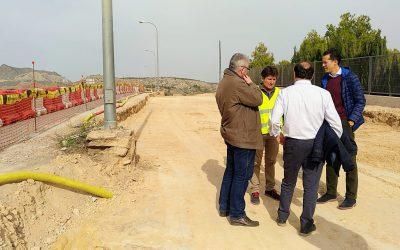 Comienzan las obras para mejorar los accesos del IES Monastil