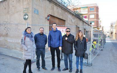 Las obras del consultorio médico de Virgen de la Cabeza marcan el inicio de un plan integral de mejoras en el barrio