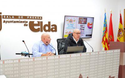 El Ayuntamiento de Elda anuncia la llegada del tren navideño