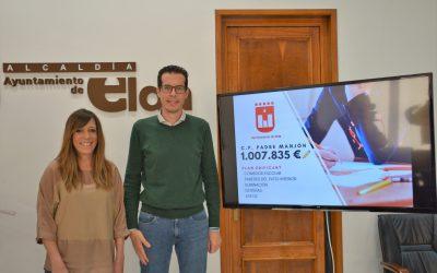La conselleria de Educación autoriza al Ayuntamiento de Elda las reformas del Colegio Padre Manjón incluidas en el Plan Edificant