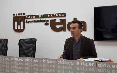 El Ayuntamiento de Elda adjudica 2,5 millones de euros y tramita cerca de 80 expedientes de contratación desde que se declaró el estado de alarma