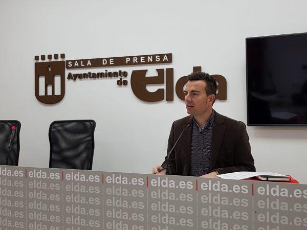El concejal de Deportes, Fernando Gómez.