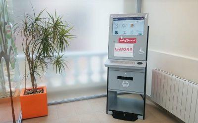 Idelsa dispone de un nuevo cajero AutoServef en las oficinas del Jardín de la Música de Elda