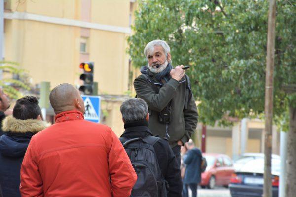 El experto Josep Selga durante el curso.