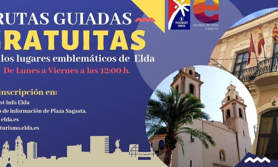 Turismo presenta una nueva actividad: Rutas guiadas gratuitas por los lugares emblemáticos de Elda