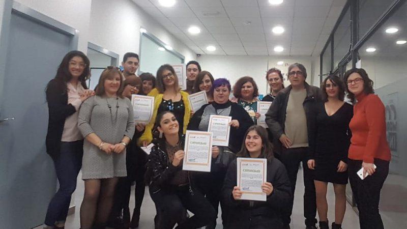 15 personas obtienen el certificado de profesionalidad en un nuevo curso sobre atención sociosanitaria a personas dependientes en instituciones sociales