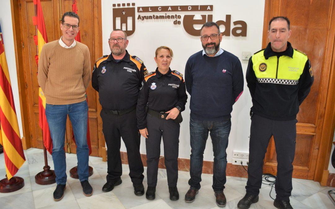 El Ayuntamiento de Elda nombra a los nuevos mandos de Protección Civil