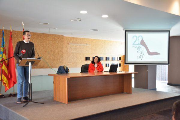 Presentación del 20 aniversario del Museo del Calzado.