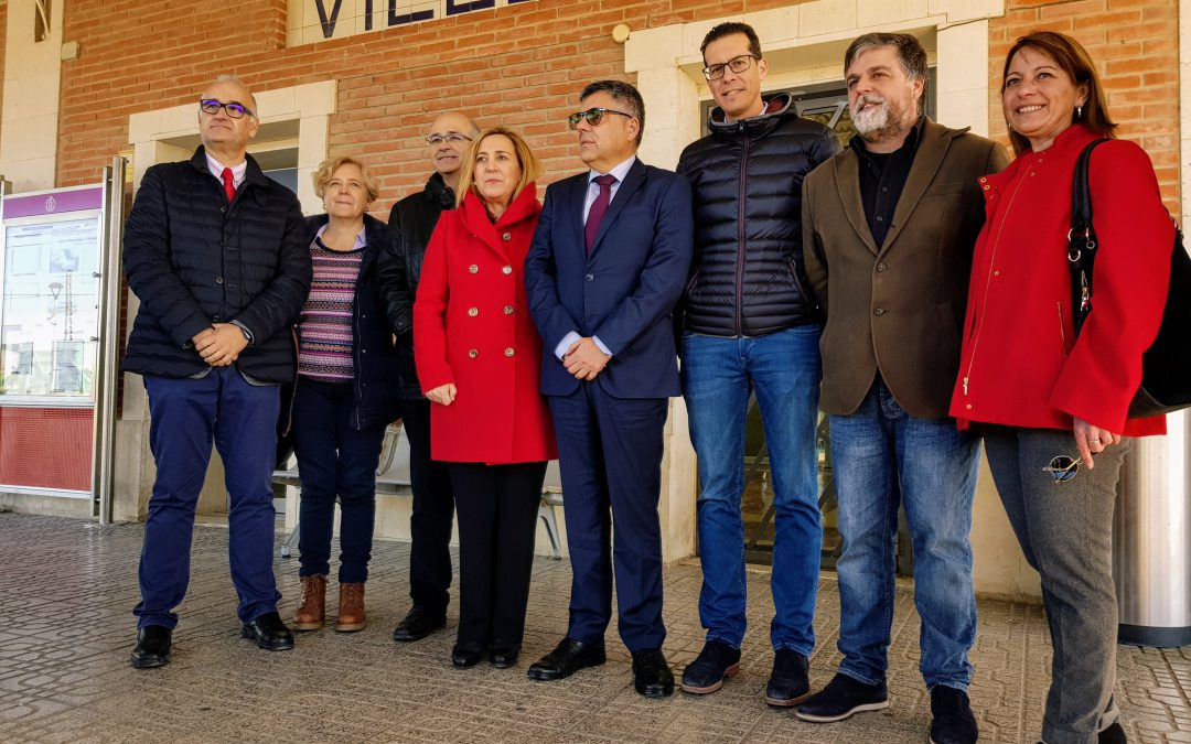 Rubén Alfaro reivindica a Renfe el aumento de la conectividad ferroviaria de Elda con Valencia a través de Moixent