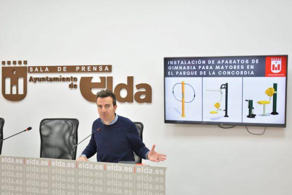 El edil de Mantenimiento, Fernando Gómez.