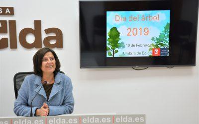 Elda celebra el Día del Árbol con una reforestación en la umbría de Bolón