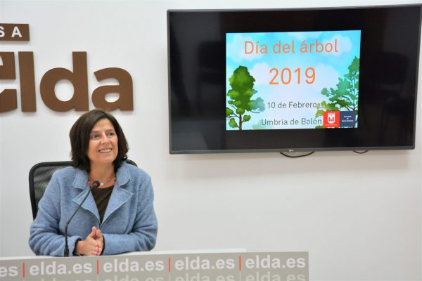 La edil de Medio Ambiente, Pilar Calpena.
