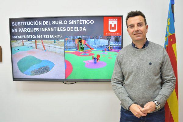 El concejal de Mantenimiento, Fernando Gómez.