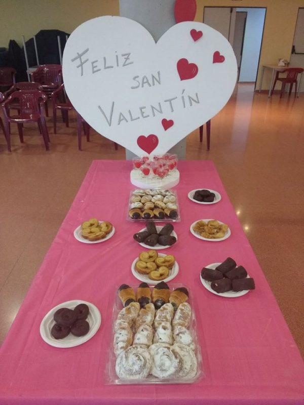 Imagen de la fiesta de San Valentín de 2018.