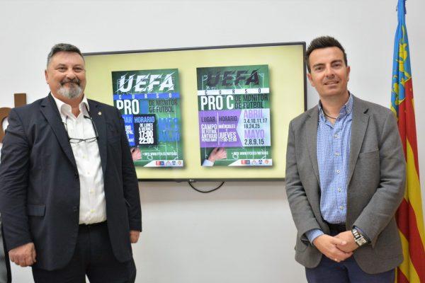 Elda acoge una jornada formativa y dos cursos UEFA para entrenadores y monitores de fútbol base.
