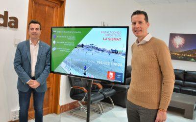 Las instalaciones deportivas de La Sismat contarán con un nuevo campo de fútbol de césped sintético