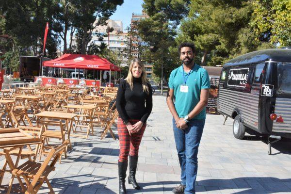 Las camionetas de comida del 'Street Food Market' de Elda llegan a la Plaza Castelar