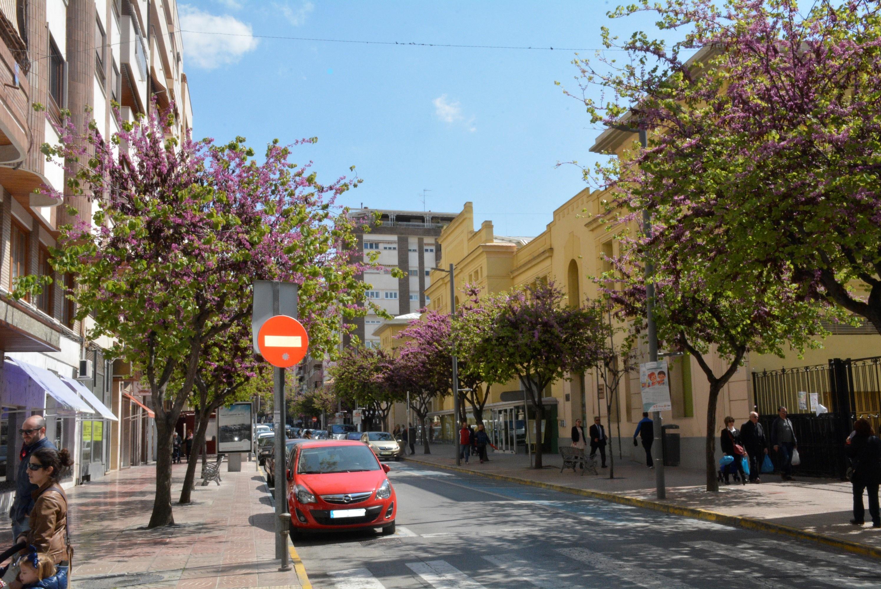 El próximo lunes, 1 de abril, cambio semestral de aparcamiento en Elda