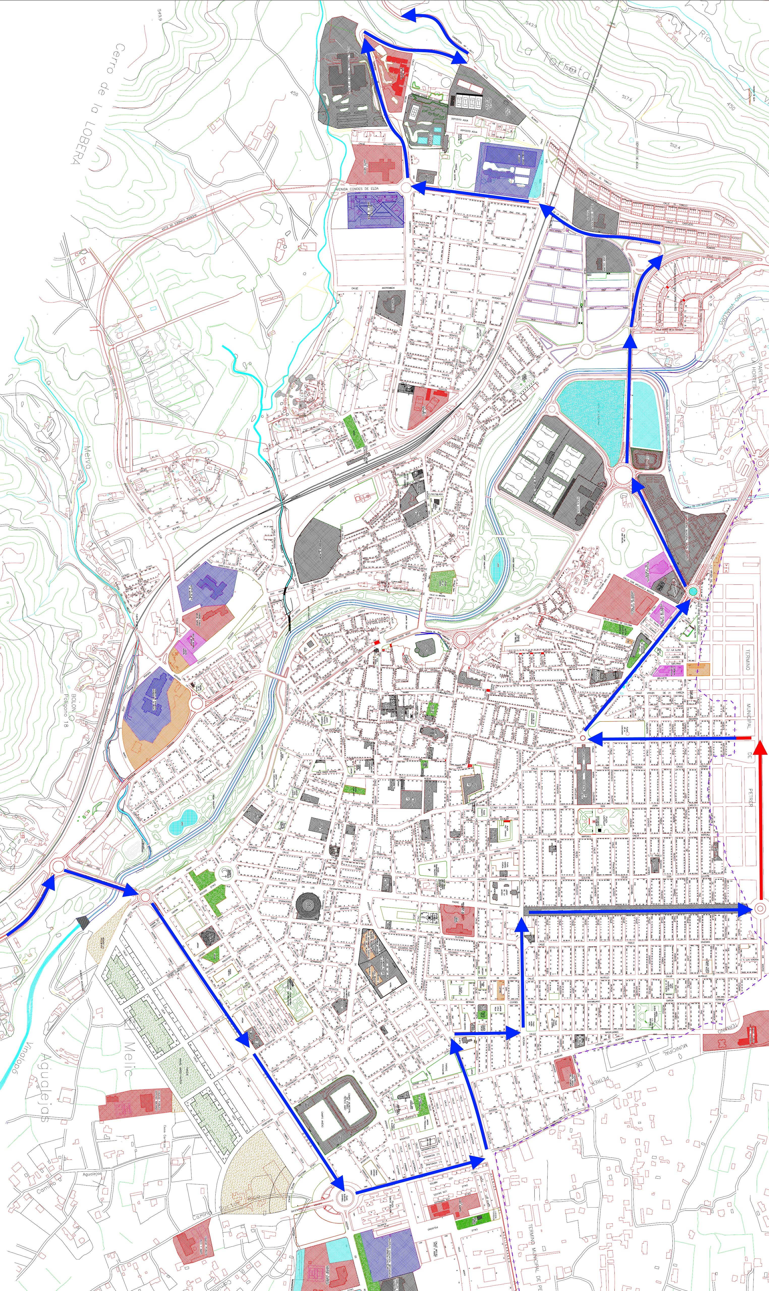 La Vuelta a España recorrerá más de 7 kilómetros a través del casco urbano de Elda