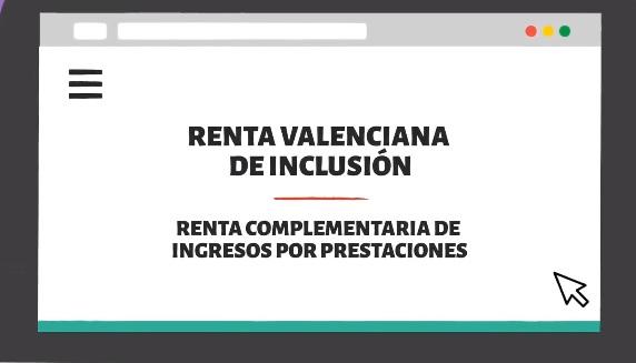 La Renta Valenciana de Inclusión se amplía para beneficiar a las personas que perciben prestaciones o pensiones bajas