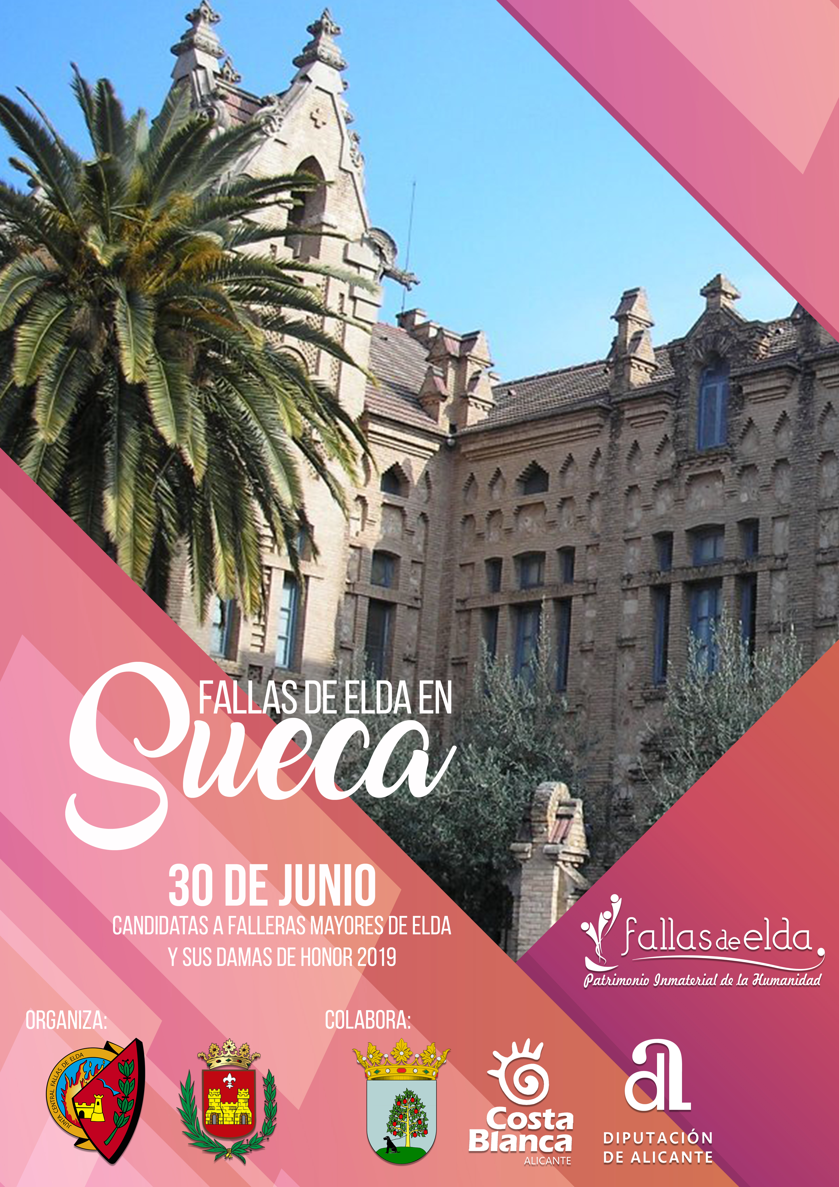 Las candidatas a Falleras Mayores de Elda disfrutarán de una jornada de convivencia en la ciudad valenciana de Sueca.