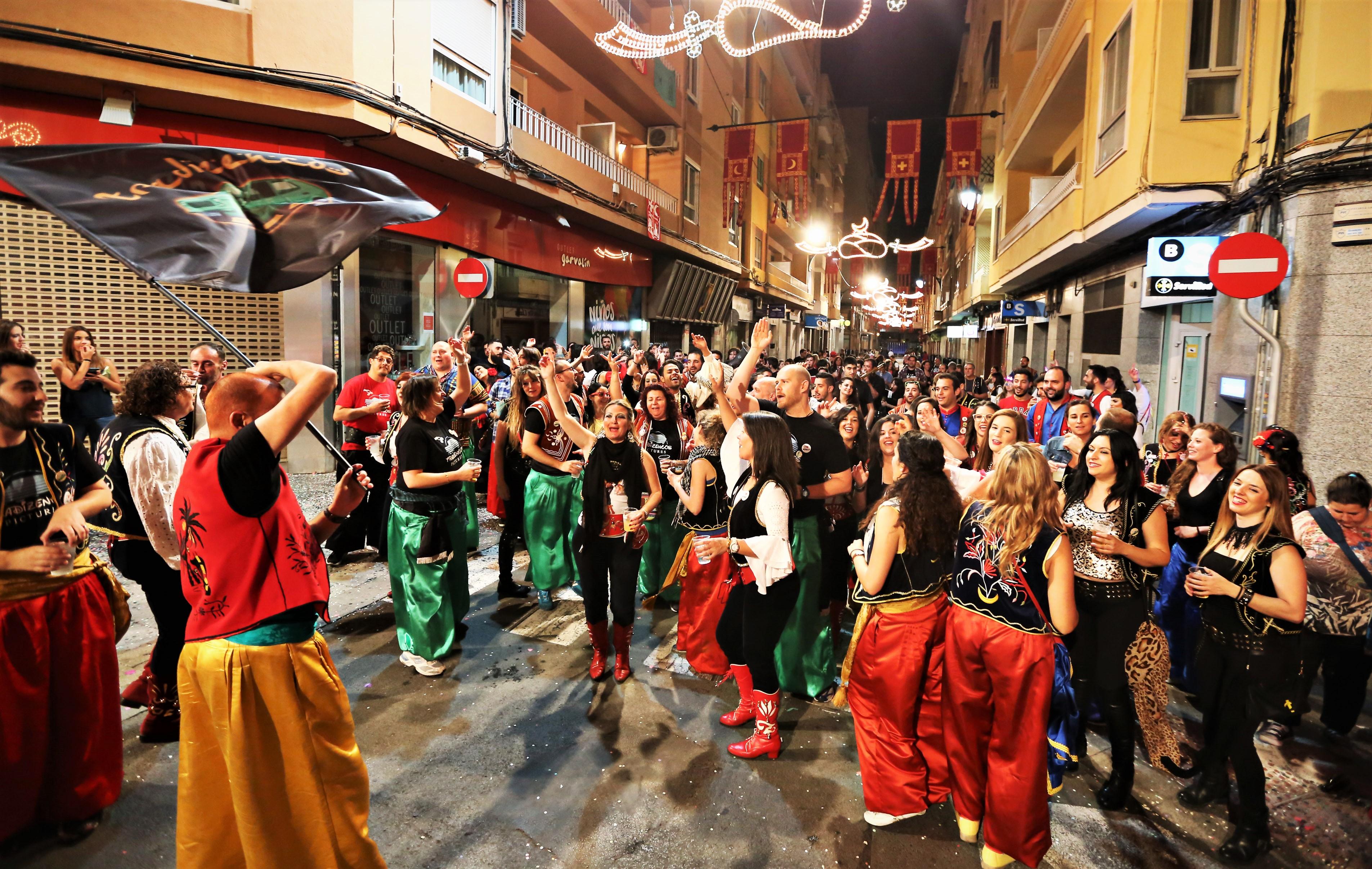 Elda contará con 334 cuartelillos durante la celebración de las fiestas de Moros y Cristianos