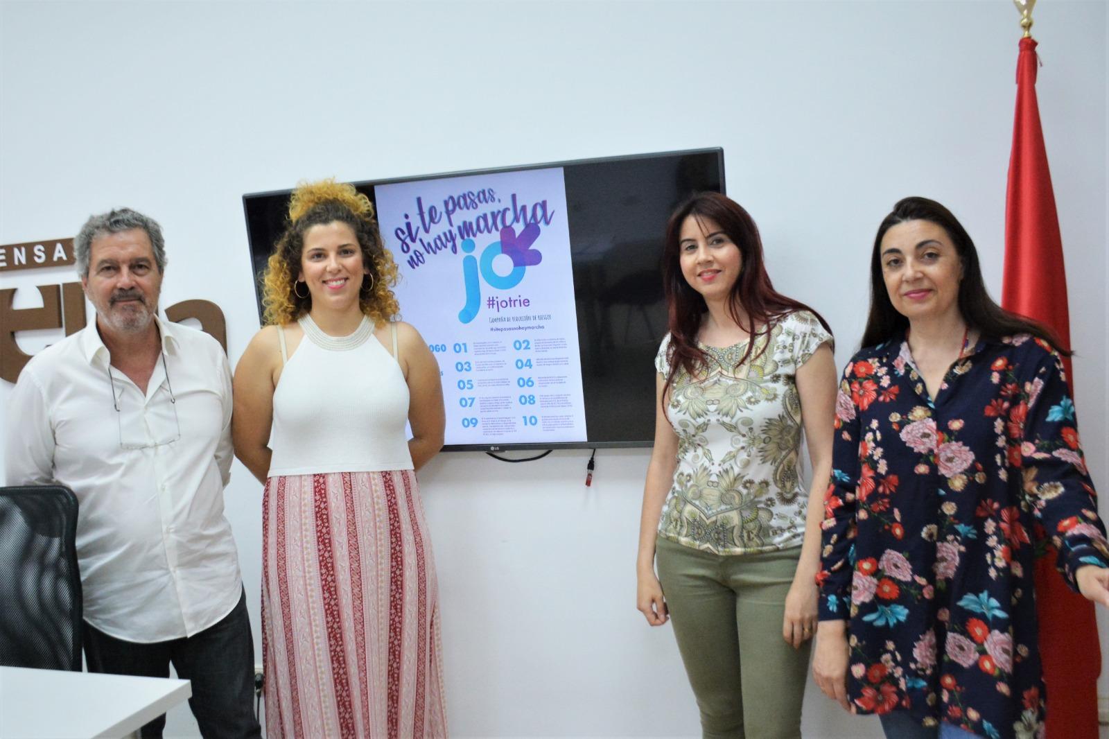 El Ayuntamiento de Elda lanza la campaña 'Si te pasas no hay marcha' para fomentar el consumo moderado de alcohol durante las fiestas de Moros y Cristianos