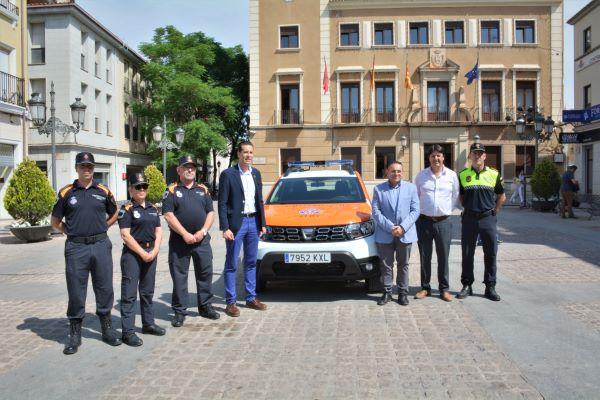 El Ayuntamiento de Elda adquiere un nuevo coche para Protección Civil