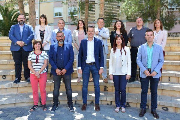 Rubén Alfaro da a conocer las delegaciones del nuevo equipo de gobierno