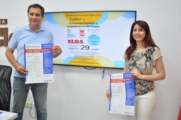 El Centro Social Severo Ochoa de Elda acoge un taller de economía familiar y organización del hogar para familias numerosas