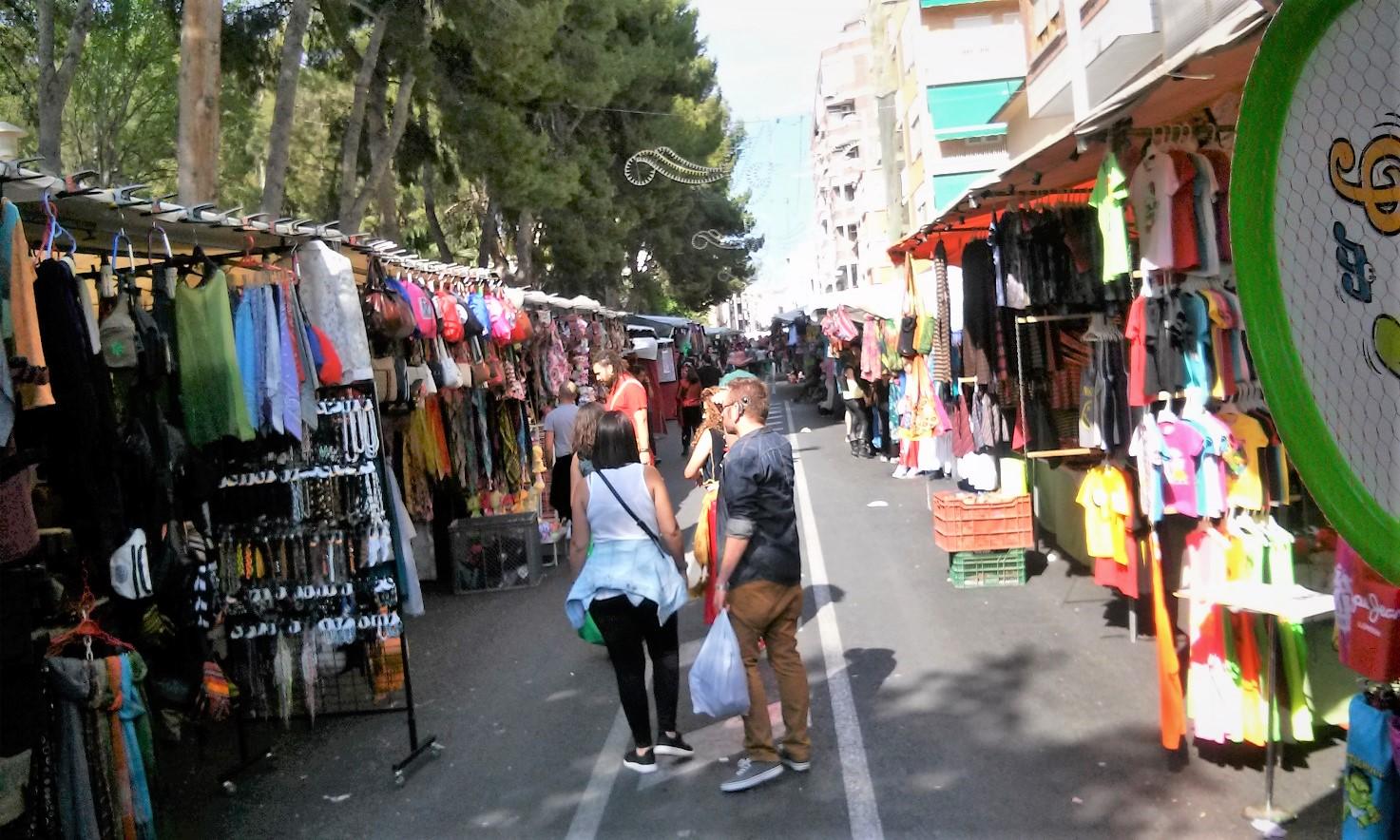 El 'Zoco' de los Moros y Cristianos de Elda contará con 84 puestos de venta