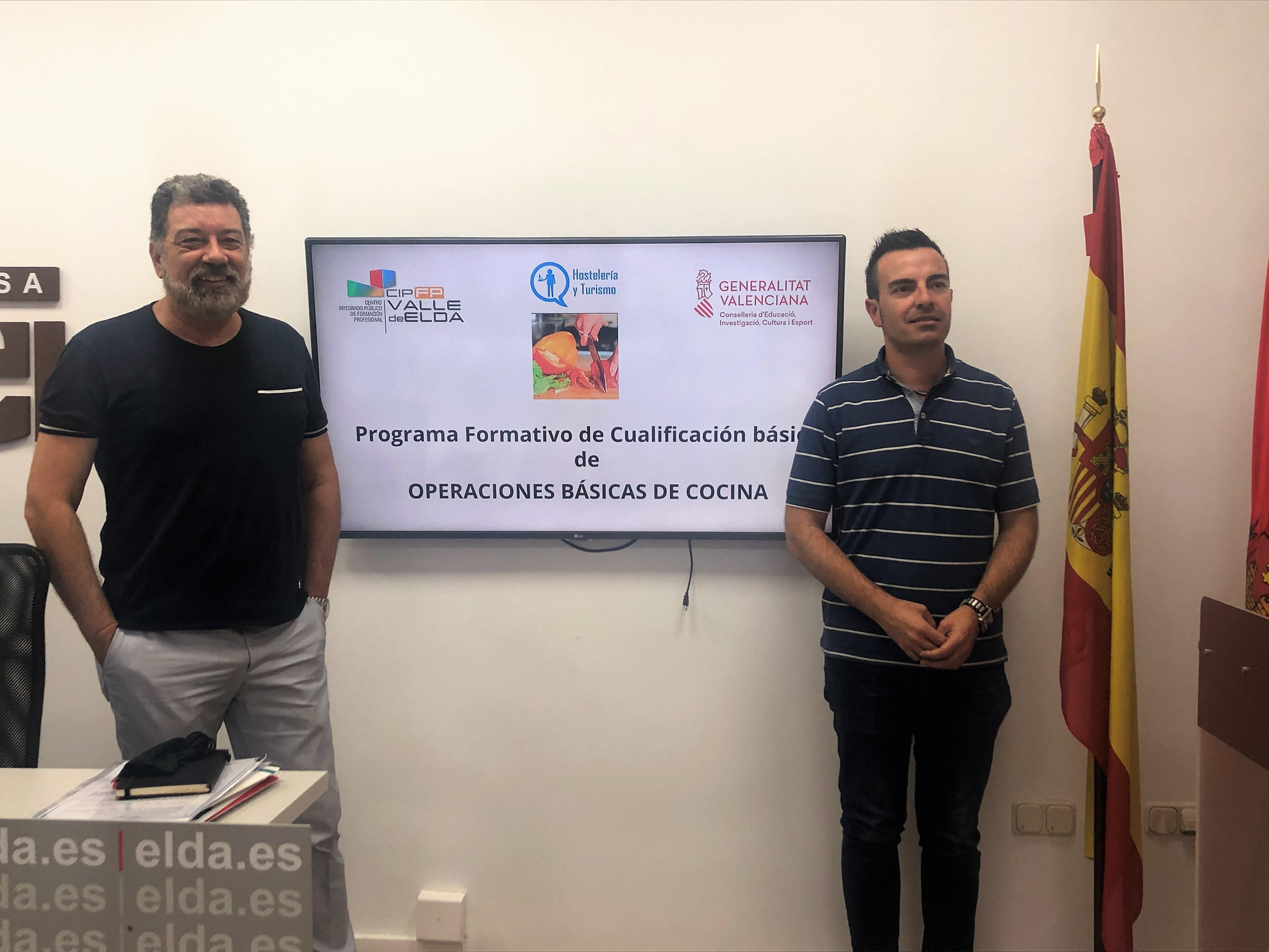 El CIPFP Valle de Elda incorpora un curso de Operaciones Básicas de Cocina a su oferta formativa